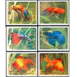 2986 تمبر نوروز  83 - ماهی(1382)