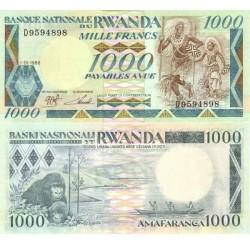 اسکناس 1000 فرانک - رواندا 1988 تک