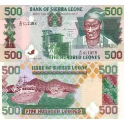 اسکناس 500 لئون - سیرالئون 2003 تک