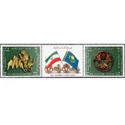 3116 تمبر مشترک ایران و قزاقستان 1387