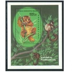 سونیرشیت میمونهای لمور - ماداگاسکار 1983