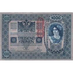 اسکناس 1000 کرون - اتریش 1902 غیر بانکی