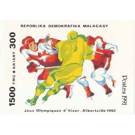 سونیرشیت بازیهای المپیک زمستانی  - ماداگاسکار 1991