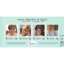 سونیرشیت یادبود مرگ دایانا - پرنسس ولز - تریستان 1998