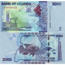 اسکناس 2000 شلینگ - اوگاندا 2010 تک