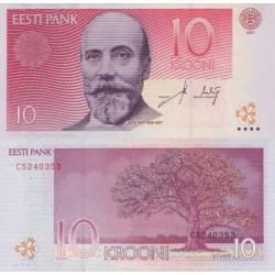 اسکناس 10 کرون - استونی 2007 تک