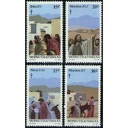 4 عدد تمبر عید پاک - آفریقای جنوبی - بوتسوانا 1982