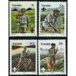 4 عدد تمبر پیشاهنگی - آفریقای جنوبی - ترنسکی 1982
