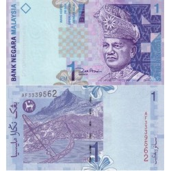 اسکناس 1 رینگیت - مالزی 1998