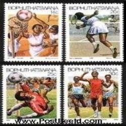 4ع تمبر ورزشی - بوتسوانا 1987