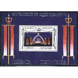 سونیرشیت بیست و پنجمین سالگرد سلطنت ملکه الیزابت دوم  - گرنادا 1977