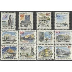 12 عدد تمبر برلین جدید - برلین آلمان 1965