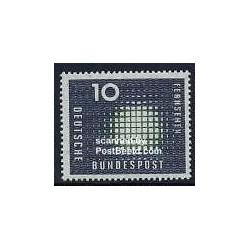 1 عدد تمبر تلویزیون - جمهوری فدرال آلمان 1957