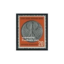 1 عدد تمبر نشان آلمان - جمهوری فدرال آلمان 1958