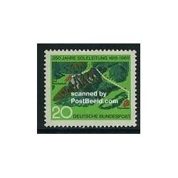 1 عدد تمبر مرزبندی - جمهوری فدرال آلمان 1969