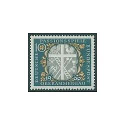 1 عدد تمبر فستیوال عزاداری - جمهوری فدرال آلمان 1960