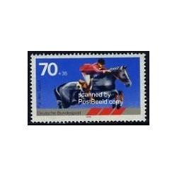 1 عدد تمبر ورزش سوارکاری - جمهوری فدرال آلمان 1978