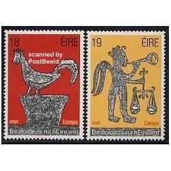 2 عدد تمبر مشترک اروپا - Europa Cept - فورکلور - ایرلند 1981
