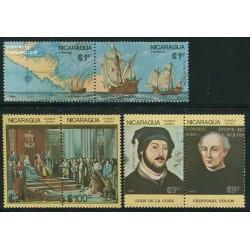 6 عدد کشف قاره آمریکا - نیکارارگوئه 1986