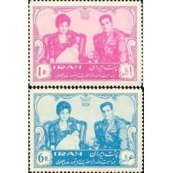 1131 - تمبر تولد رضا پهلوی 1340 تک