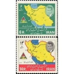 1271 - تمبر چهاردهمین سال سالگرد ملی شدن نفت 1343 تک