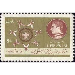 1395 - تمبر هفته تعاون وسازمان ملی پیشاهنگی ایران 1346