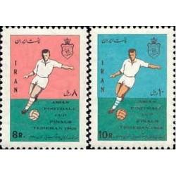 1411 - تمبر مسابقات جام آسیائی 1347