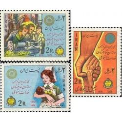 1833 - تمبر سی امین سال تاسیس سازمان خدمات اجتماعی 1355