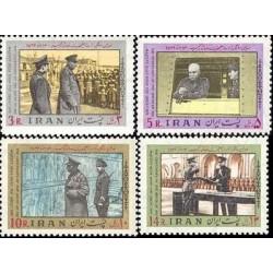 1913 - تمبر یکصدمین سالگرد رضا شاه 1356