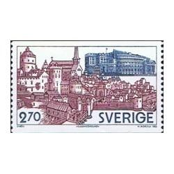 1 عدد تمبر استکهلم - سوئد 1983