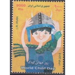 3415 - تمبر روز جهانی کودک 1394