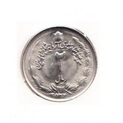 سکه دو ریال 2537 محمدرضا پهلوی - بانکی با کاور