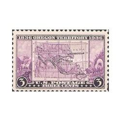 1 عدد تمبر قلمرو ایالت اورگن - آمریکا 1936