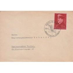 کارت مهر روز هیتلر - برلین 1941