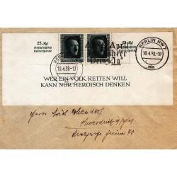 پاکت ممهور هیتلر - برلین