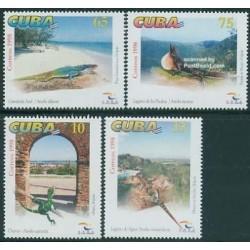 4 عدد تمبر روز جهانی توریسم - کوبا 1998