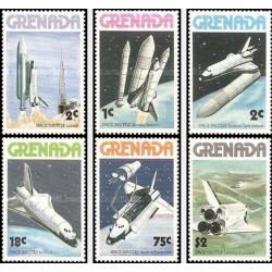 6 عدد تمبر شاتل فضائی - گرانادا 1978
