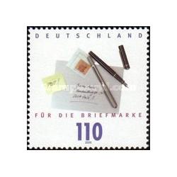 5 عدد تمبر روز تمبر - جمهوری فدرال آلمان 2000
