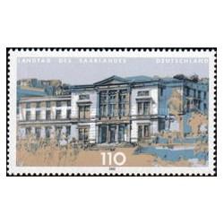 1 عدد تمبر پارلمان استانها -  Saarbrücken  - جمهوری فدرال آلمان 2000