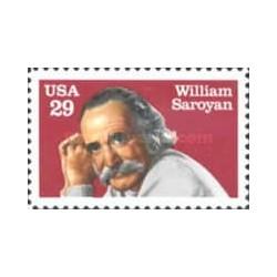 1 عدد تمبر ویلیام سارویان - نویسنده - آمریکا 1991