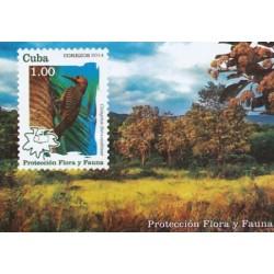 سونیرشیت حفاظت از گیاهان و جانوران - پرنده - کوبا 2014