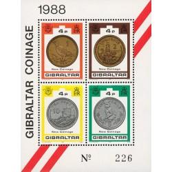 سونیرشیت سکه های جدید - جبل الطارق 1989