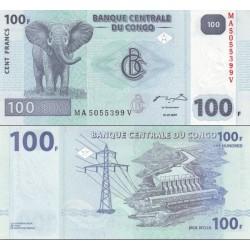 اسکناس 20 فرانک - کنگو 2007