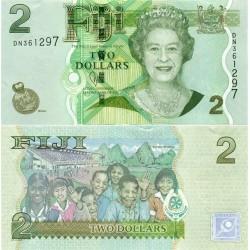 اسکناس 2 دلار - فیجی 2011