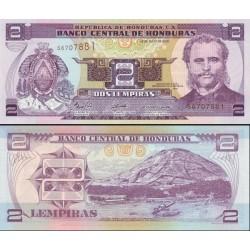 اسکناس 2 لمپیراس - هندوراس 2006