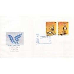 پاکت مهر روز تمبر روز صنایع دستی 1370