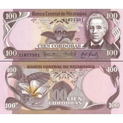 اسکناس 100 کوردوباس - نیکاراگوئه 1984