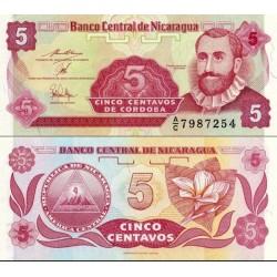 اسکناس 5 سنتاووس - نیکاراگوئه 1991