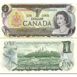 اسکناس 1 دلار - کانادا 1973 سریال دو حرفی