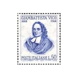 1 عدد تمبر یادبود ویکو - فیلسوف - ایتالیا 1968